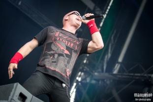 HEATHEN - Hellfest 2013