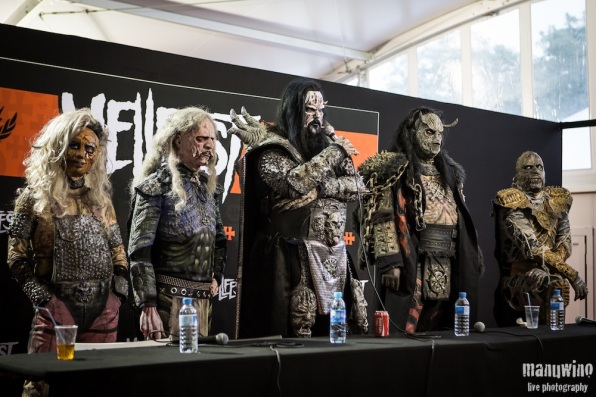 LORDI PRESS CONFERENCE - Hellfest 2013