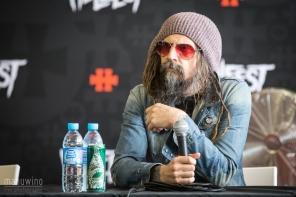 Conférence de presse Rob Zombie